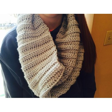 Jillian's Ribbed Cowl