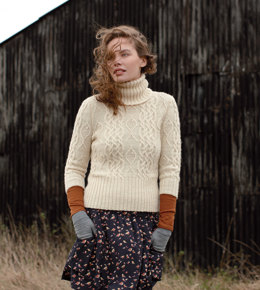 Whiting Sweater in Rowan British Sheep Breeds DK Undyed