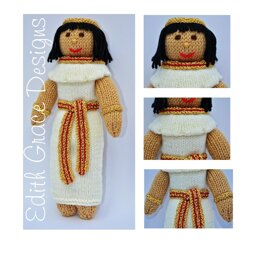Egyptian Princess Doll Knitting Pattern