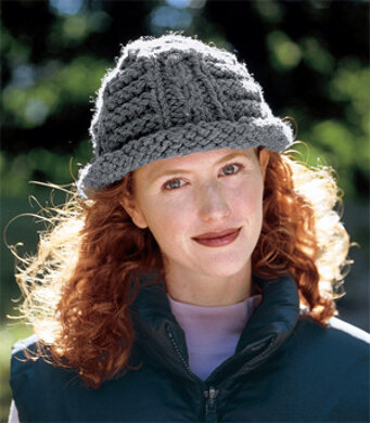 65237a7cb8f Cozy Cap in Lion Brand Wool-Ease Thick   Quick - 1202. Free. Free pattern