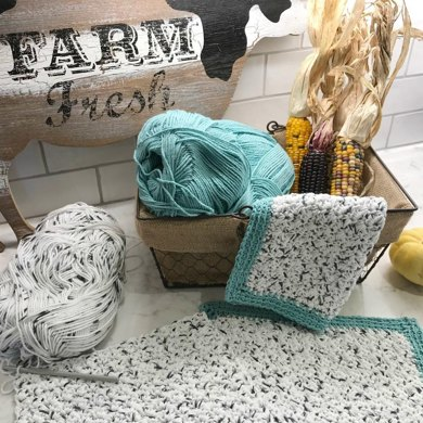 Rustic Farmhouse Dishcloth