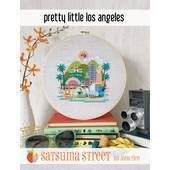 Satsuma Street Pretty Little Los Angeles Cross Stitch Chart -  Leaflet