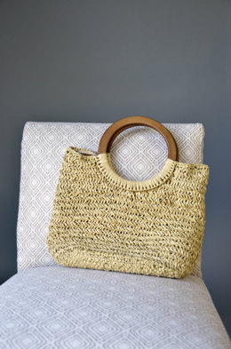 Basketry Handbag in Universal Yarn Yashi - Downloadable PDF