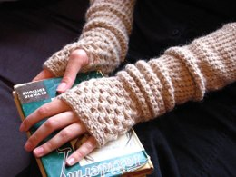 Warm My Arms Slouch - Fingerless Mitt