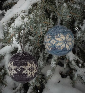 Hoarfrost Ornaments