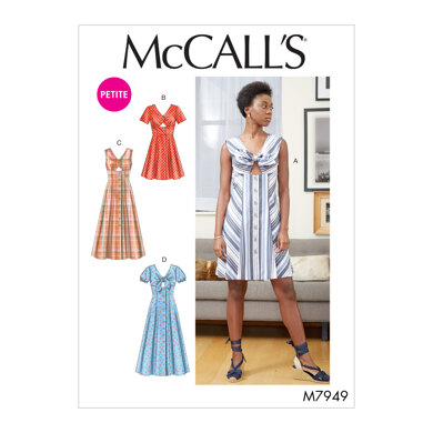 McCall's Misses'/Miss Petite Dresses M7949 - Sewing Pattern