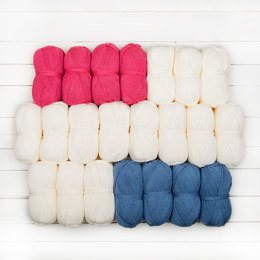 Stylecraft Whispers From The Past CAL - Purely Patriotic 22 Ball Colour Pack