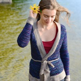 Blueberry Fields Cardigan