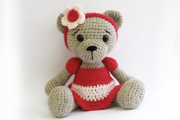 Amigurumi Teddy Bear Girl