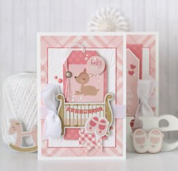 "Echo Park Paper Echo Park Collection Kit 12""X12"" - Hello Baby Girl"
