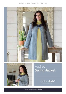 Audrey Swing Jacket in West Yorkshire Spinners ColourLab - Downloadable PDF