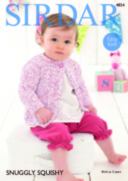 Cardigans in Sirdar Snuggly Squishy - 4854 - Downloadable PDF
