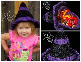Witch Hat Trick or Treat Bag