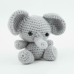 Amigurumi Litttle Elephant Crochet Toy