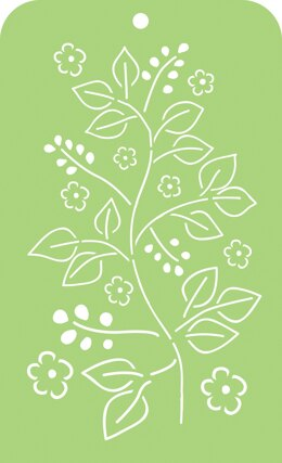 "Kaisercraft Mini Designer Templates 3.5""X5.75"" - Leaves"
