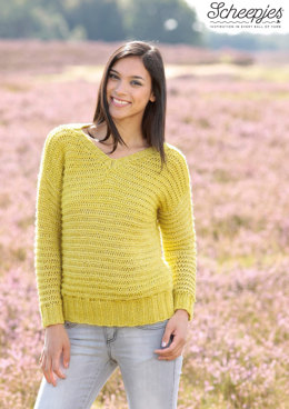 Pullover in Scheepjes Stone Washed - Model A XL