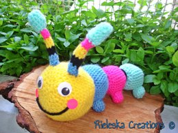 Colorful Hungry Caterpillar