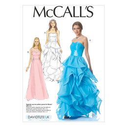 McCall's Misses' Dresses M7124 - Sewing Pattern