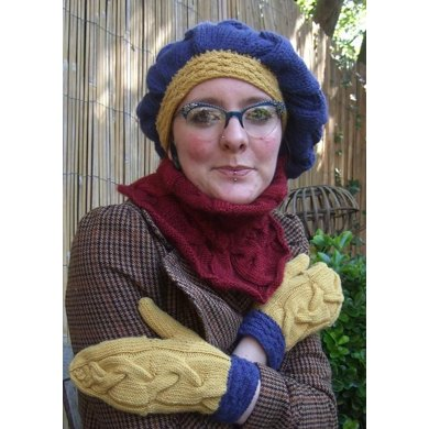 Winter Warmers Collection (beret, cowl & mittens)