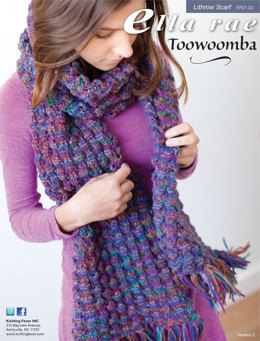 Lithgow Scarf in Ella Rae Toowoomba - ER01-02 - Downloadable PDF
