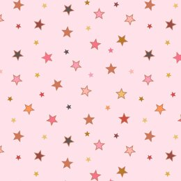 Lewis & Irene Rainbows - Calming Stars with Rose Gold Metallic