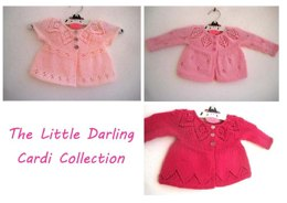 The Little Darling Cardi Collection E-Book