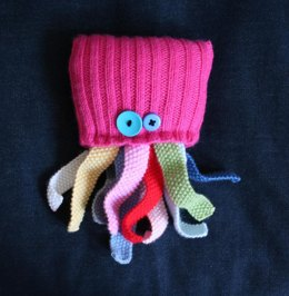 Knit your own aquarium - fish, octopi and jellyfish