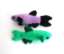 Danio Tropical Fish Amigurumi/Plush Toy