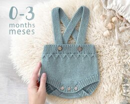 0-3 months - PETIT Knitted Diaper Cover