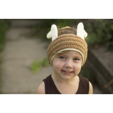 Critter Society Ear Warmers - Deer