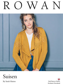 Suisen Cardigan in Rowan Cotton Lustre