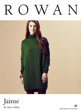 Jaime Dress in Rowan Pure Wool Worsted