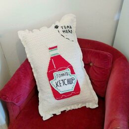 Ketchup Packet Pillow