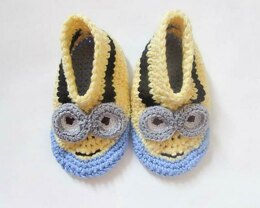 Funny Character Slippers Boots