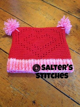 Very Valentine's Hat 3 Years to Adult Large