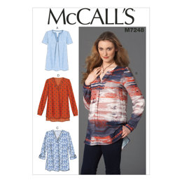 McCall's Misses' Tops M7248 - Sewing Pattern