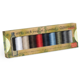 Gutermann Sew-All: Recycled: 10 x 100m: Assorted Pack #1