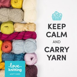 LoveKnitting eGift Card - Keep Calm