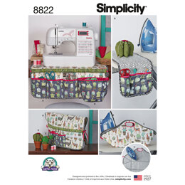 Simplicity 8822 Sewing Accessories - Paper Pattern, Size OS (ONE SIZE)
