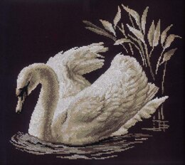RTO Swan Cross Stitch Kit - 40cm x 35cm