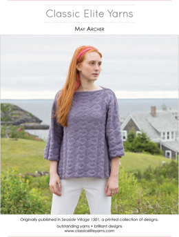 May Archer Pullover in Classic Elite Yarns Classic Silk - Downloadable PDF