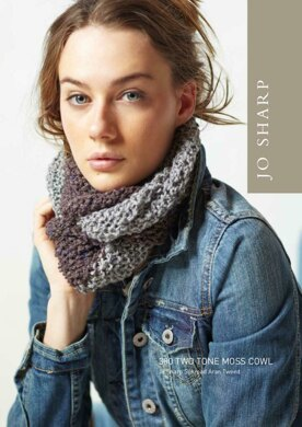 Two Tone Moss Cowl