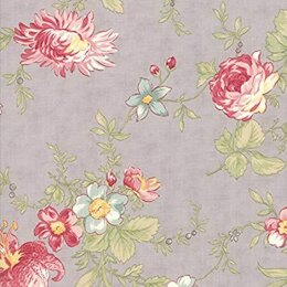 Moda Fabrics 3 Sisters Poetry Cut to Length - Stone 1