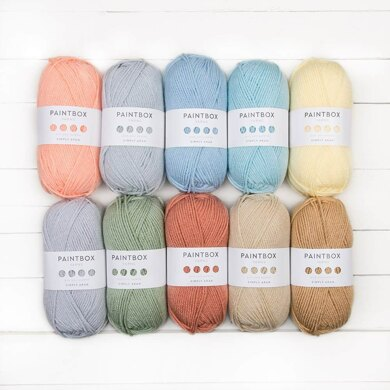 Paintbox Yarns Simply Aran 10 Ball Color Pack