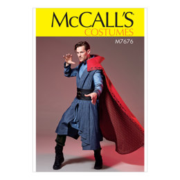 McCall's Men's Costume M7676 - Sewing Pattern