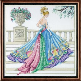 Janlynn Corporation The Ballgown Cross Stitch Kit - 35.5cm x 35.5cm