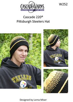 Pittsburgh Steelers Hat in Cascade 220 - W252  b3f16b53f