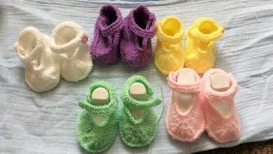 Spring Seamless Baby Shoes