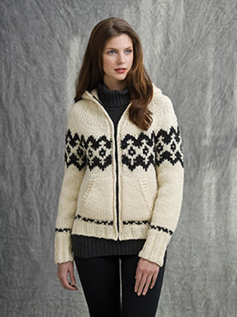 Lodge Zipped Hoodie in Tahki Yarns Montana