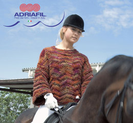 Dorado Pullover in Adriafil Sinergia - Downloadable PDF